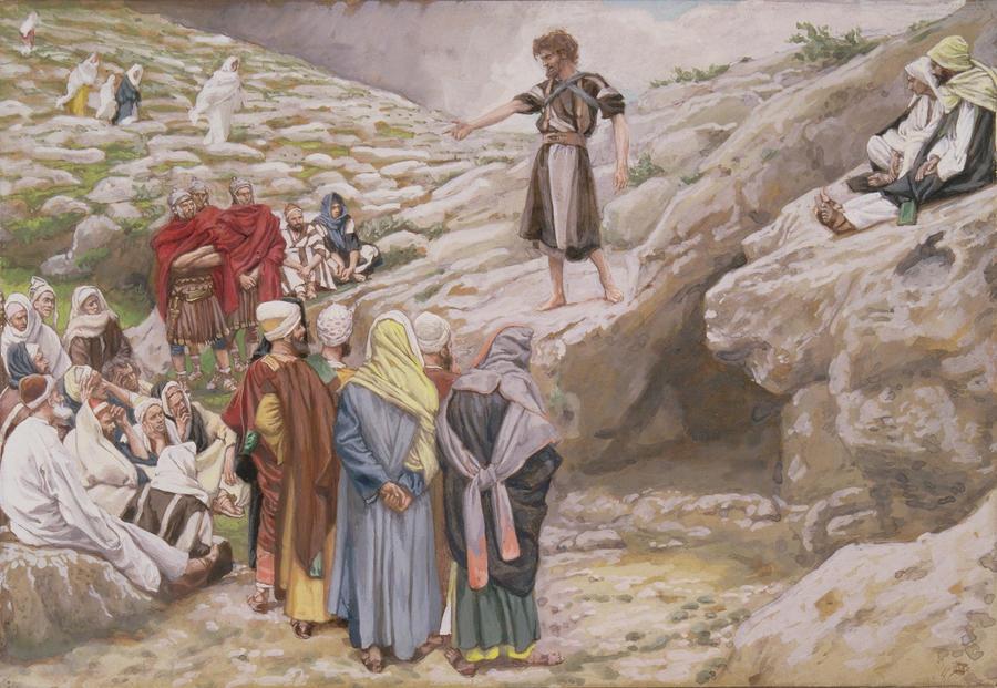 Джеймс Тиссот. Иоанн Креститель и фарисеи