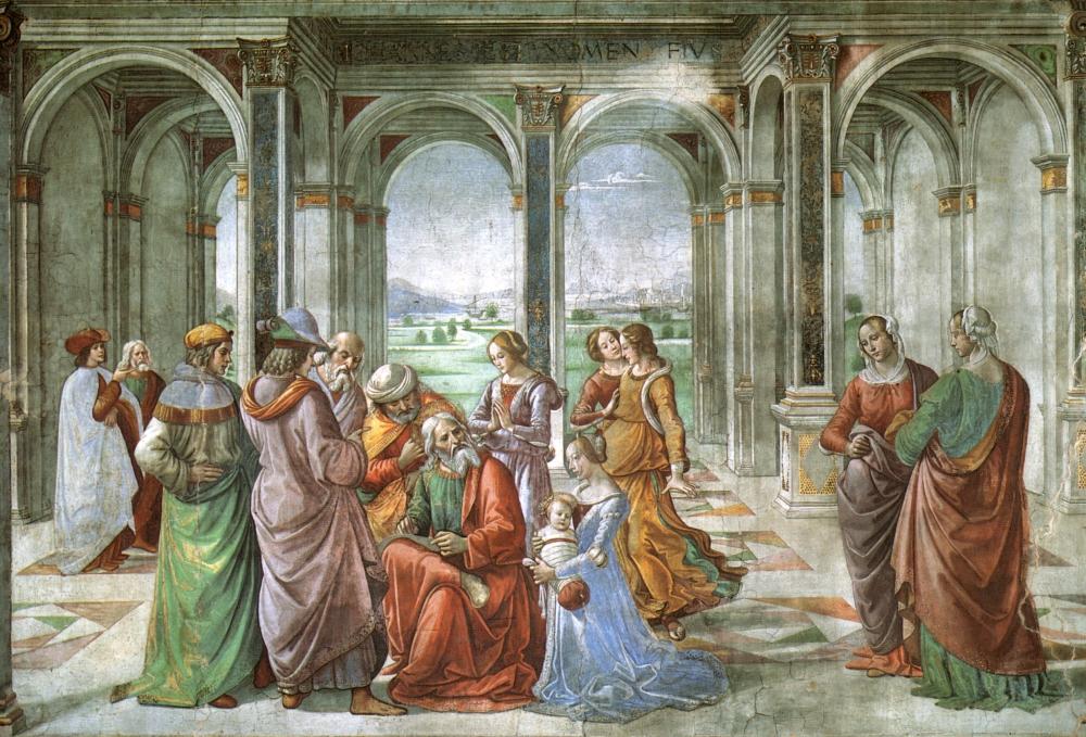 Захария дает имя своему сыну