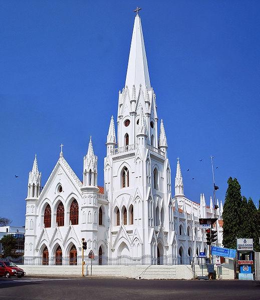Индия, Ченнай. Собор Святого Фомы