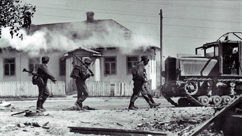Июль 1941 года, Украина