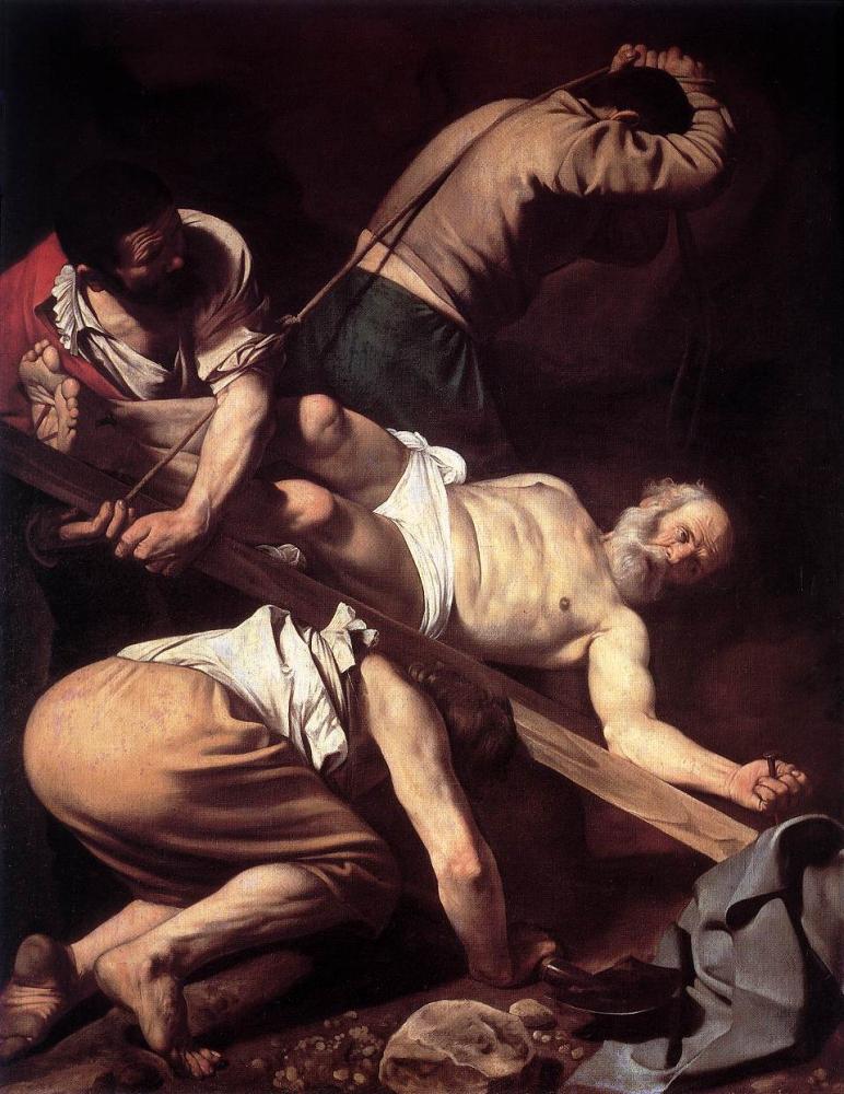 Караваджо. Распятие апостола Петра