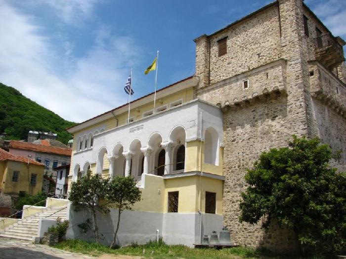 Кариес (Карея) - столица монашеской республики