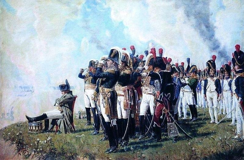 Наполеон на Бородинских высотах. Верещагин (1897)
