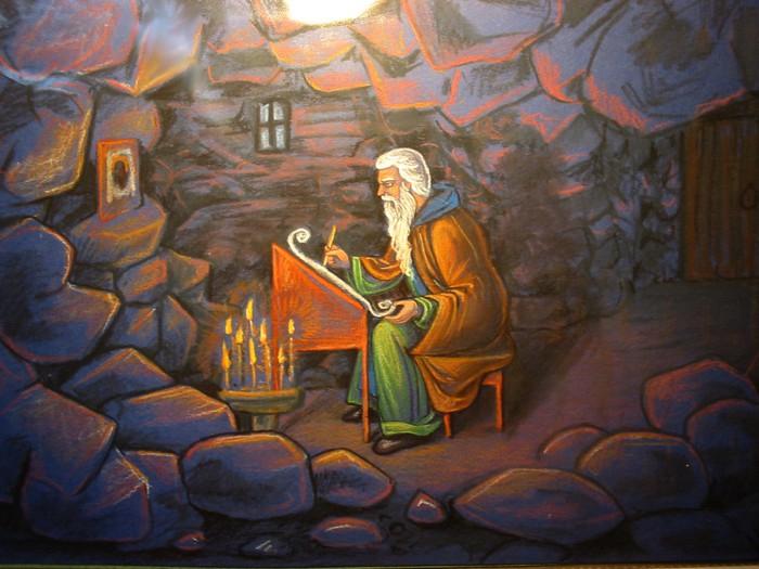 Св. Иоанн Лествичник в пустыне