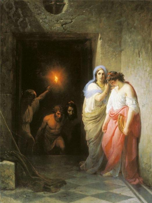 Усекновение главы Иоанна Предтечи (Худяков В.Г.,1861)