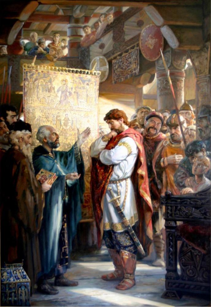 Выбор Веры князем Владимиром