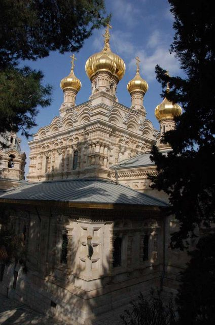 Храм св. Марии Магдалины в Гефсимании в Иерусалиме