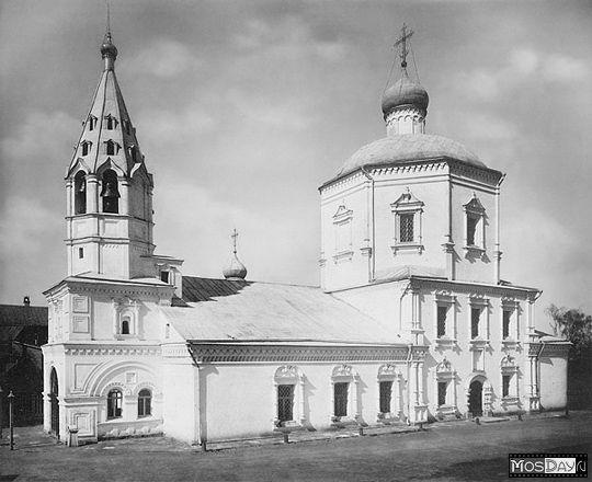 Церковь Божией Матери иконы Неопалимая Купины. 1882 год