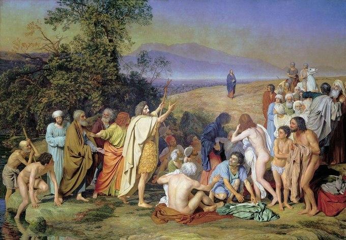 Явление Христа народу. А.А. Иванов.1837-1857