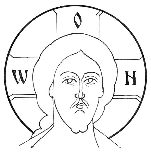 изображение лица святого на иконе 3 буквы