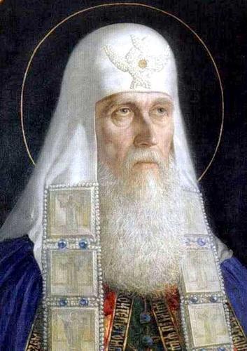 В. Шилов. Патриарх Ермоген