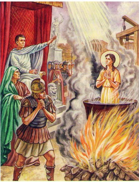 Подвиг святой Веры
