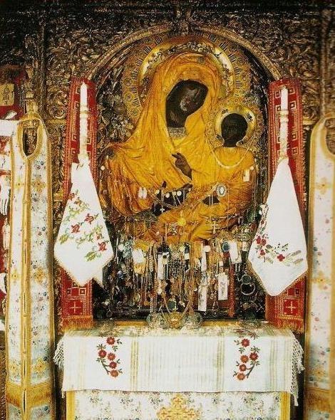 Икона Божией Матери ''Скоропослушница''. Афонский Дохиарский монастырь