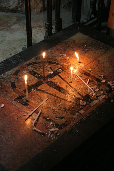 Место обретения Креста Господня