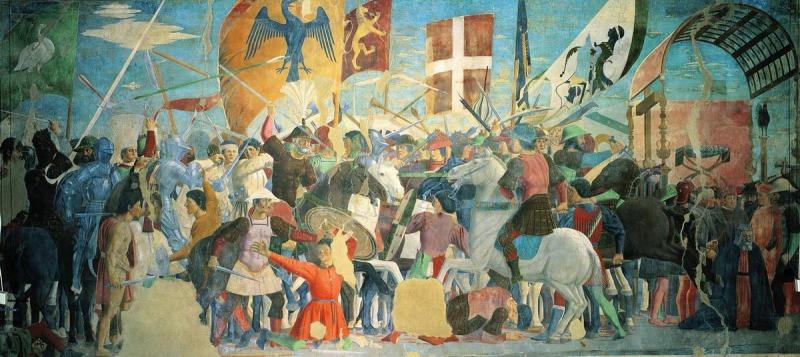 Битва императора Ираклия с персами. Казнь персидского царя Хосроя