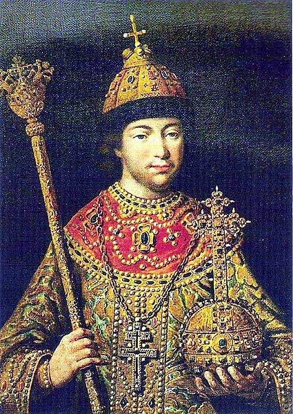 Молодой царь Михаил Фёдорович Романов