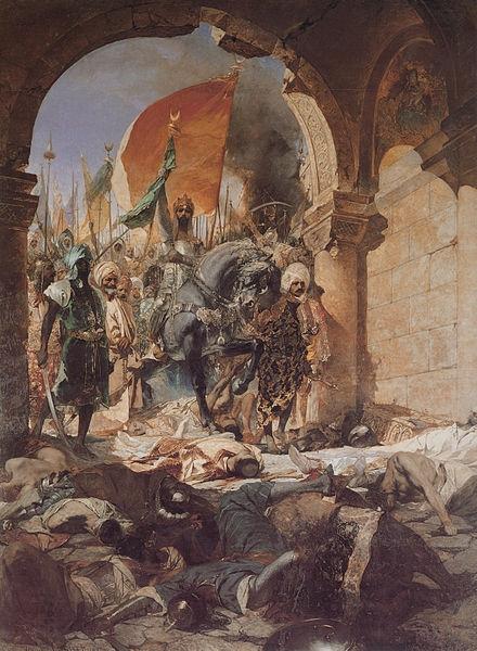 Вступление Мехмеда II в Константинополь
