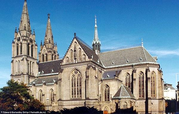 Собор Св. Людмилы в Праге