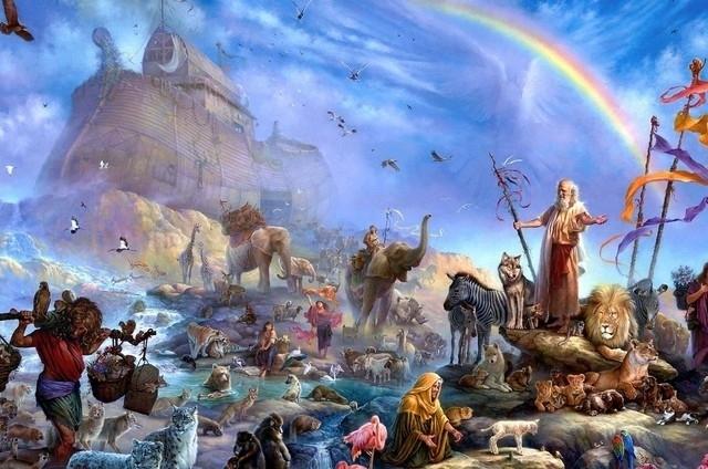 библейские сказания фильмы в исторической последовательности потоп