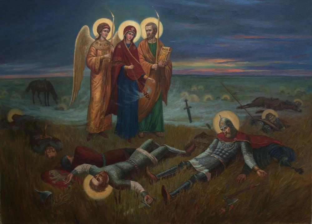 Явление Богородицы князю Димитрию Донскому