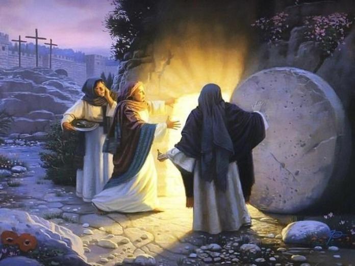 Картинки по запросу По прошествии же субботы, на рассвете первого дня недели, пришла Мария Магдалина и другая Мария посмотреть гроб