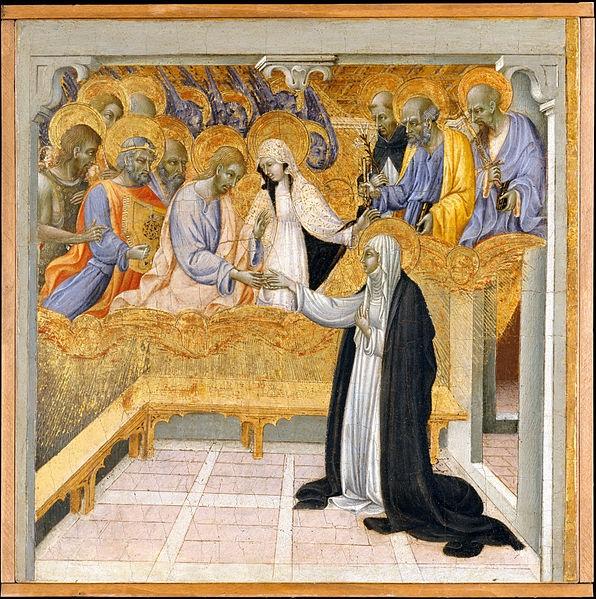 Мистическое обручение св. Екатерины