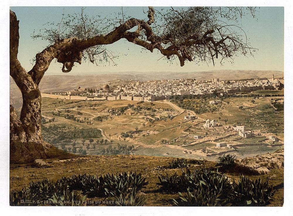 Вид на Иерусалим, XIX век