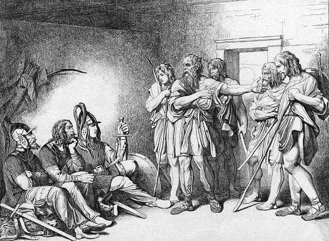 Призвание варягов. Ф.А. Бруни, 1839