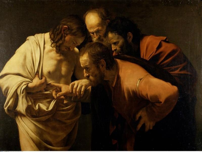 Неверие святого Фомы, Караваджо