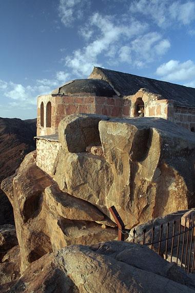 Храм на вершине горы Моисея, Синай