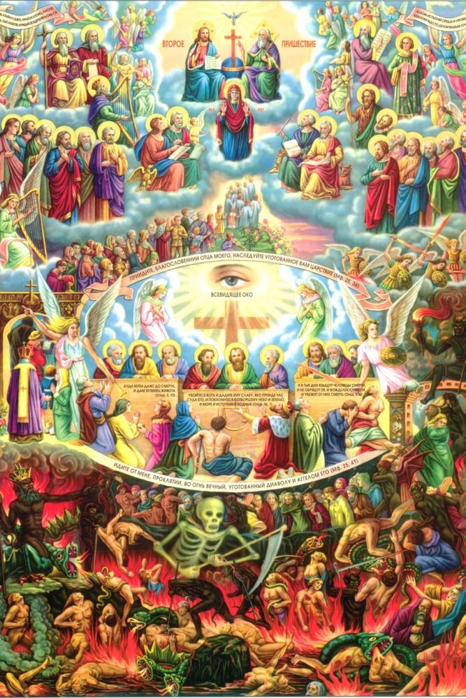 Второе и страшное Христово пришествие. Страшный Суд