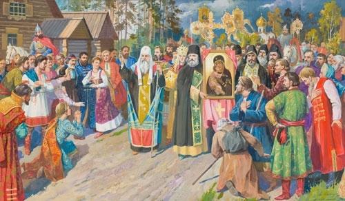 Чудесное избавление Русской земли от Тамерлана на Кучковом поле