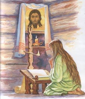 Княгиня Ольга молилась христианскому Богу
