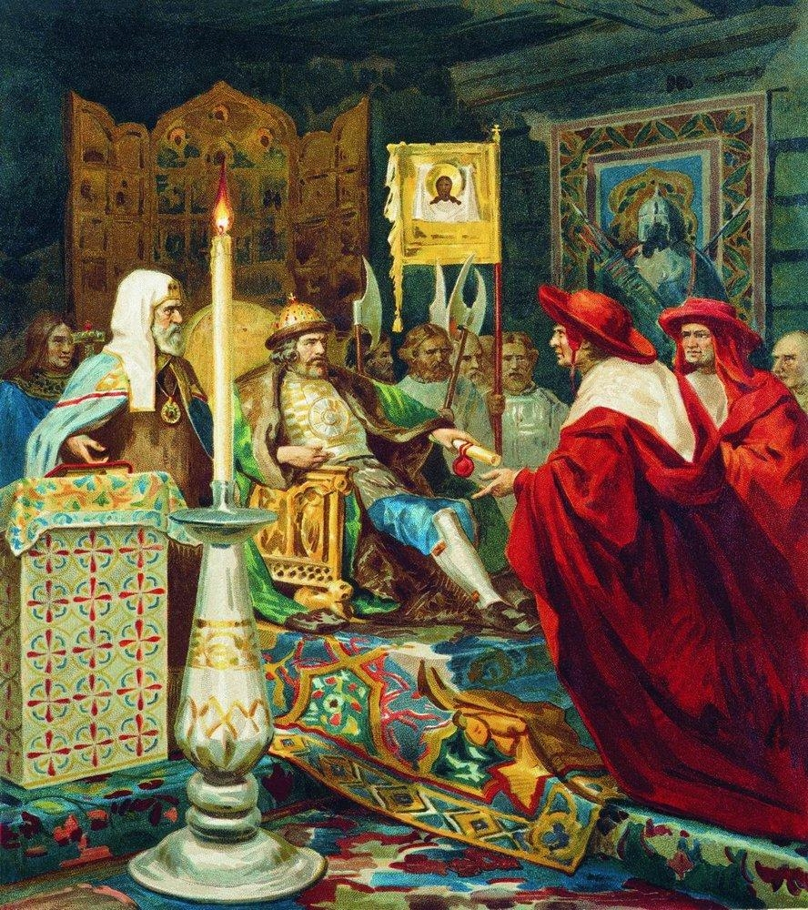 Александр Невский и папские кардиналы