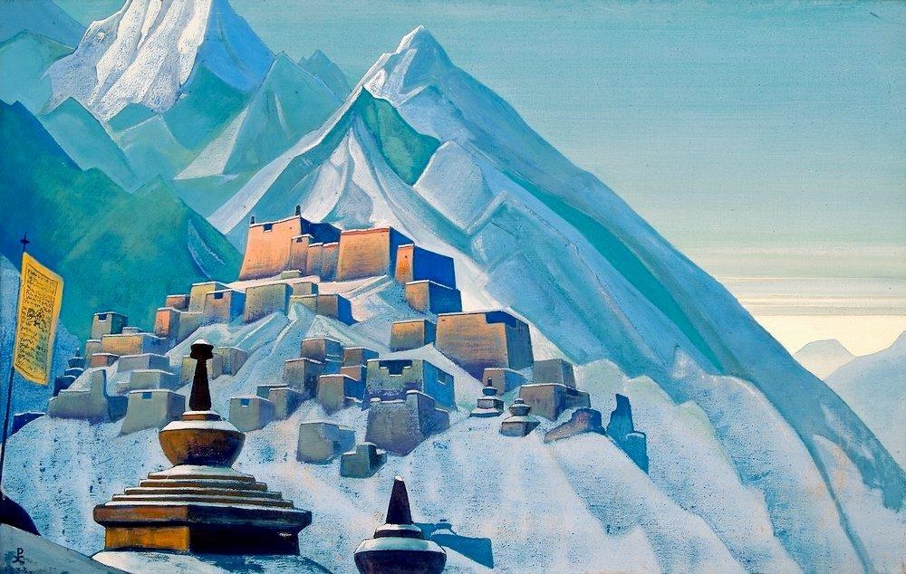 Н.К. Рерих. Тибет