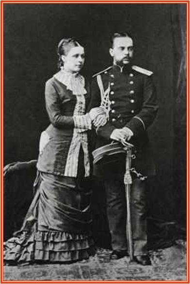 Л.М.Чичагов с женой Н.Н.Чичаговой